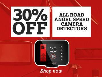30% off all Road Angel Speed Camera Detectors